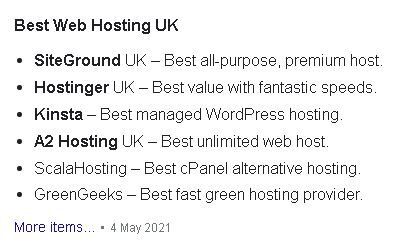 Googled SG Best Hosting